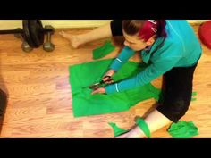 Easy How To Cut Zumba T-Shirt into Halter - No Sewing
