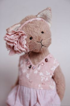 Teddy Bear Sophie – shop online on Livemaster with shipping