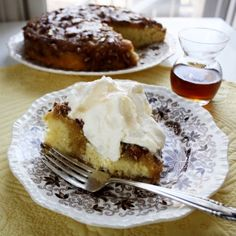 The charm of this vintage maple cake lies in its tender, buttery crumb and rich maple-nut flavor.