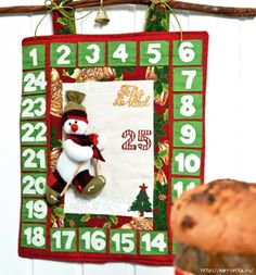 Текстильный Адвент-календарь. Выкройка снеговика (1) (583x626, 230Kb) Christmas Time, Xmas, Holiday Crafts, Holiday Decor, Christmas Decorations, Christmas Ornaments, Holidays And Events, Decorative Items, Projects
