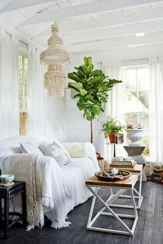 "I love the trend of ""she sheds.""  They're basically the feminine version of a man cave...a personal space to call your own and retreat to. What they're used for can vary quite a bit: a creative studio, a hen hut, a grown-up playhouse, a gardening shed, a tiny cottage, or simply a sanctuary to hang out and enjoy a quiet moment. I got a chance to review the newly-released book She …"
