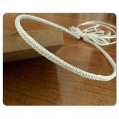 Νυφικό στεφανάκι πλεκτό με μεταξωτή κλωστή.. Bracelets, Inspiration, Jewelry, Wedding, Fashion, Biblical Inspiration, Valentines Day Weddings, Moda, Jewlery
