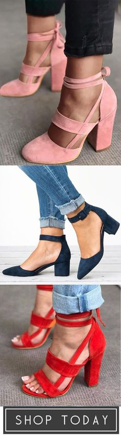 10000+bought !!! Casual Comfort Adjustable Buckle Shoes Latest Fashion Clothes, Latest Fashion For Women, Fashion Shoes, Womens Fashion, Winter Typ, Hot Shoes, Beautiful Shoes, Me Too Shoes, What To Wear