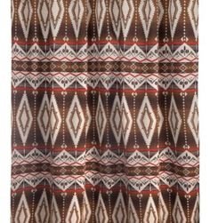 Pecos Trail Shower Curtain Southwestern Curtains Southwest Decor Style Bed Pillows