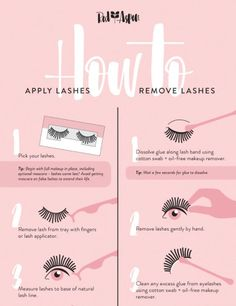 How to apply and remove lashes without damaging them | #makeup #beauty #cosmetics #lashes #eyelashes #looks #beautyblogger r#fakeeyelashes #naturallook #fakelashes #tipsandtricks #beautytips #beautyadvice #rosemariebeauty