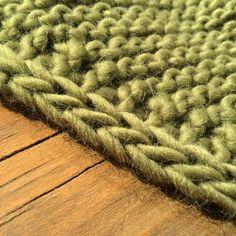 i-cord en même temps que le tricot