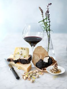 Wine, cheese and black truffles..  Are you a Wine Lover? --> Follow for more about wine