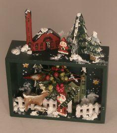 Christmas Diarama by Karen Markland