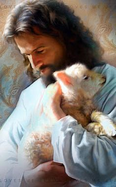 The Lord is my Shepherd Jesus Shepherd, Pictures Of Jesus Christ, Pictures Of God, Jesus Pics, Prayer Pictures, Images Of Christ, Beautiful Pictures, Jesus Christ Painting, Jesus Artwork