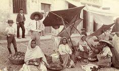 1900 Los tianguis en Mexico