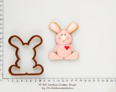 Funny Bunny Cookie Cutter