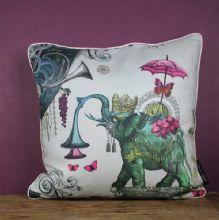 Joseph Alexander Goode cushion - Indian elephant http://www.eclectdesign.com