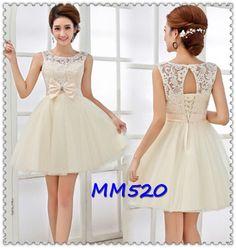 Lace prom dress  short prom dress / white by originaldressesMM520, $85.00