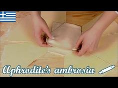 Σπιτικό Φύλλο για Πίτα No 2 - Δύο μεγάλα φύλλα για αλμυρές & γλυκιές πίτες - YouTube