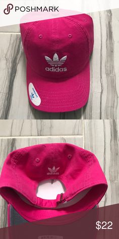 🆕Adidas Hat in Hot Pink Excellent condition adidas Accessories Hats