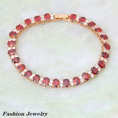 Find More Charm Bracelets Information about New 2016  garnet Gift red Cubic Zirconia Bracelets 18K Yellow Gold Plated Bracelet Fashion Jewelry  B124 Lengthen Bracelets,High Quality jewelry display for bracelets,China jewelry lion Suppliers, Cheap jewelry handpiece from Dana Jewelry Co., Ltd. on Aliexpress.com