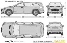 Mercedes-Benz R-Class vector drawing Mercedes Benz R Class, Car Sketch, Pickup Trucks, Diesel, Automobile, Motorcycles, Cars, Vehicles, Products
