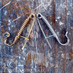 Alfinete de peito para tricot | Portuguese knitting pin