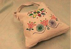 Detvianska taška 2 by DetvianskyTulipan - SAShE.sk - Handmade Veľké tašky