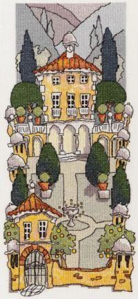 Tuscan Gardens 1 - Michael Powell