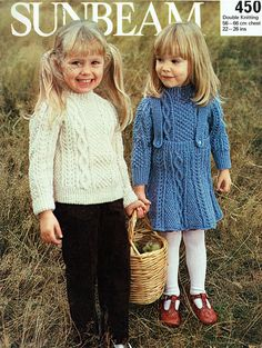 Items similar to PDF Vintage Girl Toddler Pinafore Dress Knitting Pattern ARAN Early Sunbeam 450 Jumper Skirt Children Mod Boho Rustic Country on Etsy Double Knitting, Baby Knitting, Toddler Outfits, Kids Outfits, Pinafore Dress, Vintage Knitting, Vintage Girls, Toddler Girl, Girls Dresses