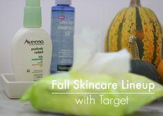blushing basics: Fall Skincare with AVEENO® and NEUTROGENA®