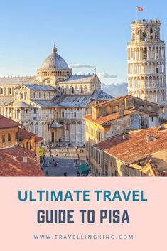 This ultimate travel guide to Pisa will show you all the most beautiful places in Pisa, what to expect when visiting, where to stay in Pisa and things to do in Pisa which will help you in planning a trip to Pisa. Pisa Italia, Poses, Pisa Tower, Great Buildings And Structures, Modern Buildings, Things To Do In Italy, Italy Travel Tips, Italy Vacation, Italy Trip