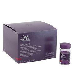 Wella Balance Anti Hair Loss Plaukų slinkimą stabdantis serumas 8x6ml
