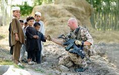German Soldier in Afghanistan