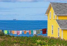 Laundry day - coast of France