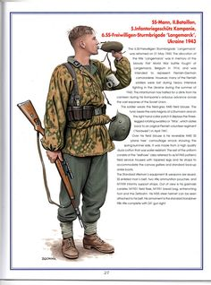 MILITARY ART OF DMYTRO ZGONNIK: The Waffen SS in Russia 1941-44