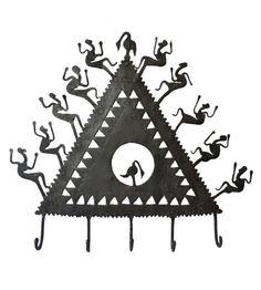 Tribal Key Chain Holder