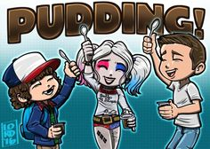 "Lord Mesa on Twitter: """"Pudding Pals"" @GatenM123 @MargotRobbie @JensenAckles…"