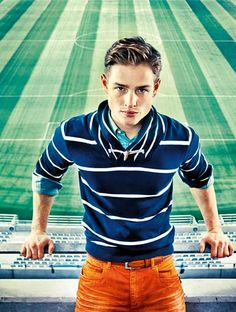 """Anson´s March 2012 campaign """"We Love Football""""."""