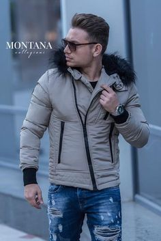 gaca barbati asimetrica crem Winter Jackets, Fashion, Winter Coats, Moda, Winter Vest Outfits, Fashion Styles, Fashion Illustrations