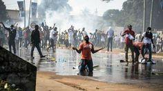 3 muertos y más 800 detenidos en protestas violentas en Gabón
