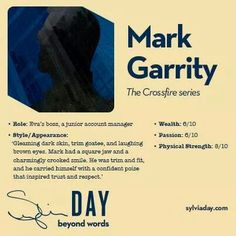 Mark Garrity - Crossfire Series - Sylvia Day