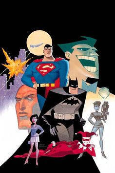 World's Finest by Bruce Timm