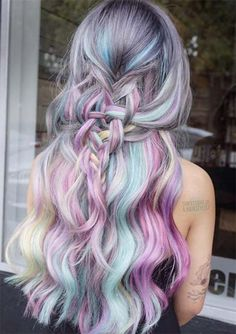 100 Ridiculously Awesome Braided Hairstyles: Woven Fishtail Braid