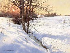 Winter - Part of 4 seasons Limited edition prints. Throughout The World, Limited Edition Prints, Four Seasons, Impressionist, Graham, Britain, Freedom, Gift Ideas, Fine Art