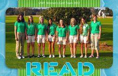 UWF Women's Golf 2012