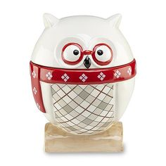Essential Home Owl Cookie Jar by Kmart Christmas Cookie Jars, Piggy Bank, Owl, Ceramics, My Favorite Things, Home Decor, Image, Pottery, Money Box