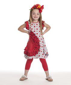Another great find on #zulily! Poppy Joanne Dress - Toddler & Girls by KidCuteTure #zulilyfinds