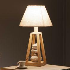 Lampe A Poser Deco Lampe Galet Rouge Coach Sportif A Domicile