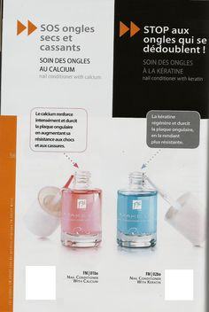 01BO Soin des ongles au calcium 10ml 02BO Soin des ongles à la kératine 10ml prix:4.97eur