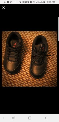 871c72e4541d Toddler boy Air Jordan shoes size 9C. Black and red  fashion  clothing