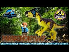 PARADEINONYCHUS - LEGO JURASSIC PARK DINOSAUR CHAOS EFFECT #PARADEINONYCHUS #JURASSICWORLD - YouTube Lego Jurassic World Dinosaurs, Lego Jurassic Park, Jurassic Park World, Creatures, Toys, Funny, Youtube, Art, Activity Toys