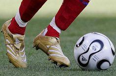 Zinedine Zidane's Football Boots