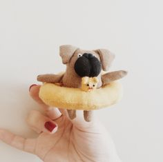 A personal favorite from my Etsy shop https://www.etsy.com/listing/244405629/pug-bookmark-cute-pug-bookmark-pug-doll
