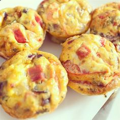 """Paleo Omelet Muffins 